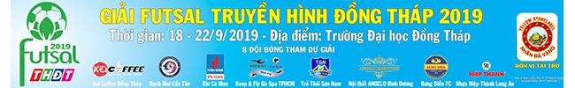 Giải Futsal THĐT 2019
