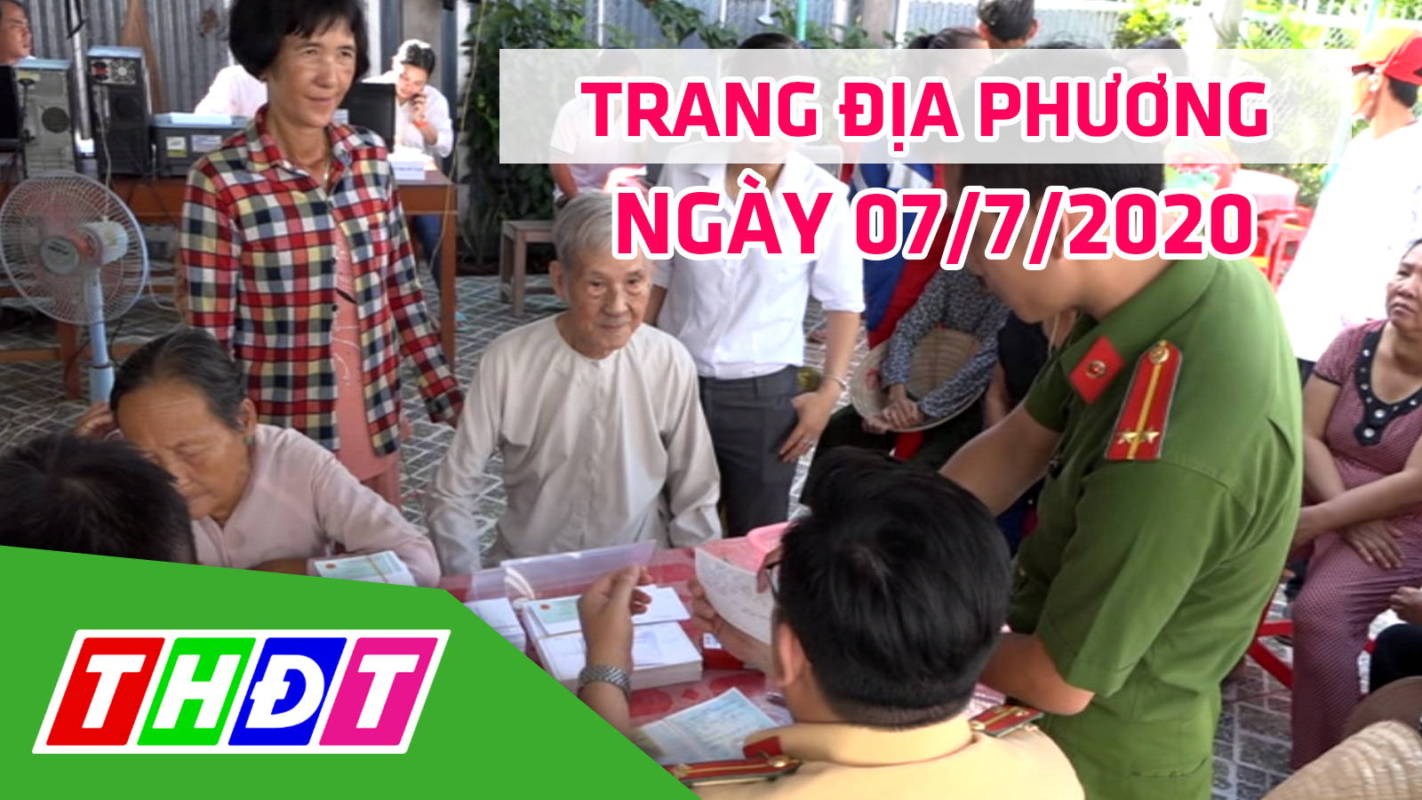 Trang địa phương - Thứ Ba, 07/7/2020 - H.Hồng Ngự