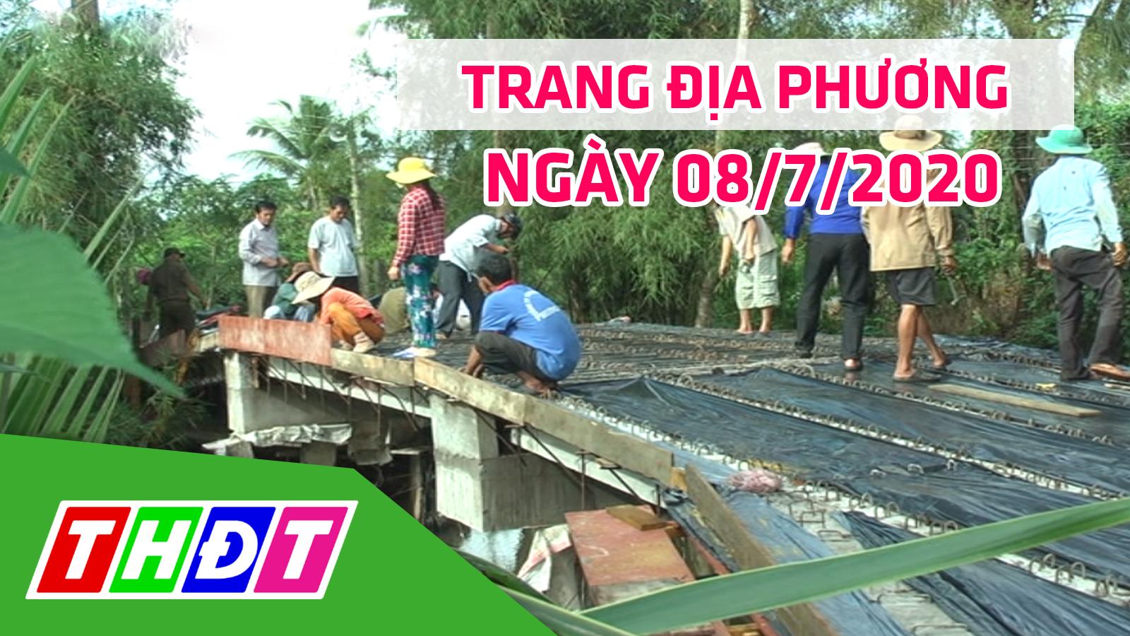 Trang địa phương - Thứ Tư, 08/7/2020 - H.Cao Lãnh