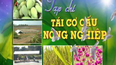 Tạp chí tái cơ cấu nông nghiệp - 08/12/2019