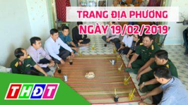 Trang địa phương - Thứ Ba, 19/02/2019 - H.Hồng Ngự