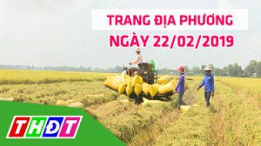 Trang địa phương - Thứ Sáu, 22/02/2019 - H.Thanh Bình