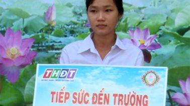 Tiếp sức đến trường, 23/8/2019: Em Bùi Thị Diễm Trinh, huyện Thanh Bình